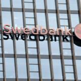 Michael Wolf kan nu kalde sig forhenværende administrerende direktør i Swedbank. Han forlader banken per dags dato efter gensidig aftale. Arkivfoto.