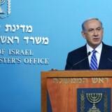 Arkiv: Israel premierminister Benjamin Netanyahu.