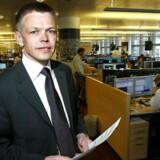 Saxo Banks finansdirektør Steen Blaafalk afviser, at man burde have gjort mere for at minimere kundernes risici.