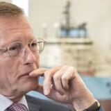 """Administrerende direktør i Mærsk, Nils Smedegaard Andersen, vurderer, at oliemarkedet befinder sig midt i et udbudschok, men Europa befinder sig på et """"godt sted"""" med en konkurrencedygtig euro og meget lave energipriser."""