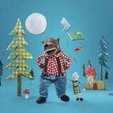 "IKEA's legetøjs-ulv ""Lufsig""."