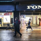 FONA Butikken på Strøget København. Mandag den 1. februar 2016.