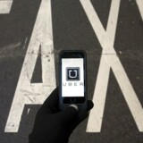 ARKIVFOTO 2014 af Uber på smartphone. (Foto: SERGIO PEREZ/Scanpix 2016)
