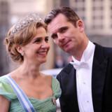 Prinsesse Christina med sin mand, hertugen af Palma.