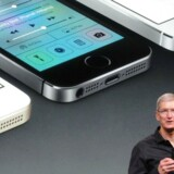 Apple-topchef Tim Cook var overrasket over kursfaldet oven på seneste regnskab men har siden købt stort ind af Apple-aktier. Arkivfoto: Glenn Chapman, AFP/Scanpix