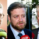 Troels Lund-Poulsen, Peter Arnfeldt og Peter Loft.