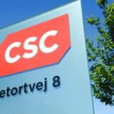CSC hovedsæde på Retortvej i Valby onsdag den 1. juni 2011. Strejken blandt de 330 it-ansatte hos it-selskabet CSC kan få meget betydelige konsekvenser for det offentlige, der har over 120 kontrakter hos selskabet. Over 300.000 ansatte i det offentlige kan under strejken se frem til forkerte lønsedler, og hos Skat har man sat forskudsopgørelser og andet på pause. Og det er ikke kun det offentliges it-system, der bliver ramt. (Foto: JENS NOERGAARD LARSEN/Scanpix 2011)