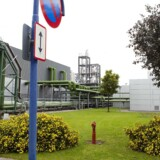 Novo Nordisks fabrik i Kalundborg.