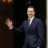 Den britiske finansminister, George Osborne.