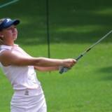 Emily Kristine Pedersen er sandsynligvis den eneste tilbageværende danske spiller, når majorturneringen i golf US Open i weekenden skal afgøres.