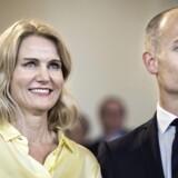Statsminister Helle Thorning-Schmidt med sin mand, Stephen Kinnock. Han håber på at blive valgt til det britiske underhus den 7. maj.