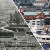 For 70 år siden blev den første atombombe kastet over Hiroshima. 80.000 mennesker dødeøjeblikkeligt, og tre dage senere ramte endnu en atombombe Nagasaki. Her blev cirka 40.000 mennesker dræbt med det samme. Titusinder er senere omkommet af følgerne fra angrebene.I dag er de japanske byer så godt som genopbyggede, men atombomberne har sat spor for altid - se billederne her.