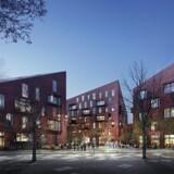 Krøyers Plads på Christiansholm med NCC Bolig som udvikler og bygherre.