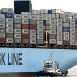 Prisen på at fragte en container mellem Asien og Europa bliver mindre og mindre.