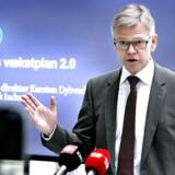 »Hvis vi fremover vil have råd til sygehuse, børnehaver og uddannelser i høj kvalitet, så skal vi være mere produktive,« siger Dansk Industris administrerende direktør, Karsten Dybvad.