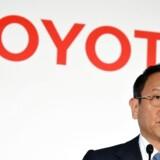 Toyotas adm. direktør Akio Toyoda kan notere sig rekordregnskab trods tilbagekaldelse af millioner af biler.