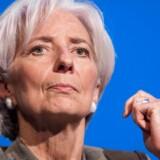 Christine Lagarde lukker alle døre for en udskudt gældsbetaling fra Grækenland, som får store problemer med at skrabe en milliard euro sammen til den 12. maj.