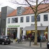 For 130 millioner kroner har NCC solgte denne butiksejendom på Lyngby Hovedgade til den tyske ejendomsfond Patrizia.