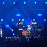På trods af at det ifølge anmelderne ikke lykkedes for bandet Red Hot Chili Peppers at få revanche for en katastrofal koncert i 2007, så fortryder festivalen ikke, at man bookede de fire fyre fra Californien til dette års Roskilde Festival. Free/Bojosoto, Wikimedia Creative Commons