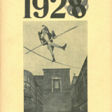Forsiden af Kritisk Revy marts 1928 var prydet af Holger Jacobsens udkast til en fælles løsning af Statsradiofoniens og Det Kongelige Teaters pladsproblemer. Teksten under billedet lyder: »Den i luften frit svævende kulturminister – Det i luften frit svævende moderne teater.«