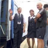Turen fra Berlin til Minsk i Hviderussland tager 20 timer.