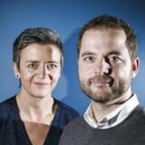 ARKIV. Økonomi og indenrigsminister Margrethe Vestager forlader regeringen og bliver ny EU-kommisær. Morten Østergaard bliver ny leder af De Radikale.