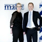 Direktøren for L'oréal i Danmark, Sanne Lønskov, og Matas-direktør Terje List samarbejder om digitalt tilbud til kunderne.