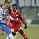 Mohammed Saeid (90) fra Lyngby under Alka Superliga-kampen imellem OB og Lyngby Boldklub i EWII Park i Odense, onsdag den 28. februar 2018.. (Foto: Tim Kildeborg Jensen/Scanpix 2018)