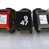 Et smart ur er ikke påtrængende på samme måde, som en smartphone kan være det. På uret er det lettere at være diskret. Sådan siger dansk ekspert om de smarte ure. Foto: Scanpix