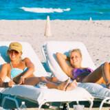 Britney Spears nyder liver på stranden ved Miami.