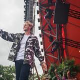 Det danske band Scarlet Pleasure optræder på Orange Scene fredag d. 1 juli 2016 på Roskilde Festival Scarlet Pleasure på Orange Scene, Roskilde Festival 2016. (Foto: Ólafur Steinar Gestsson/Scanpix 2016)