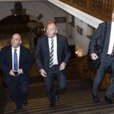 Dansk Folkeparti ønsker fortsat en folkeafstemning, hvis Danmark skal gå ind i den europæiske bankunion.