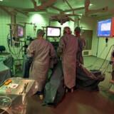 Arkivbillede. Mange operationsstuer på Rigshospitalet var i 2014 for beskidte til at bestå rengøringskontrollen.