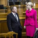 Både Lars Løkke Rasmussen (V) og statsminister Helle Thorning-Schmidt (S) skjuler deres politik, mener Thomas Larsen.