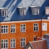 Københavns tage, lejligheder, boliger i city.