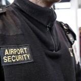 Security i Københavns Lufthavn.