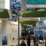 Model af Siemens nye kæmpemølle