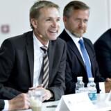 Lars Løkke (V), Kristian Thulesen Dahl (DF), Anders Samuelsen (LA) og Søren Pape (K) er enige om værdipolitikken.