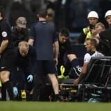 Harry Kane er blandt de mange Tottenham-profiler, der er ukampdygtige i denne tid. Reuters/Dylan Martinez