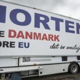 Arkivfoto: Kampagne op mod Europaparlamentsvalget i maj 2014.