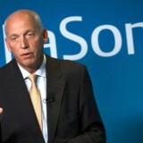 Telias topchef, Lars Nyberg. Foto: Henrik Montgomery, EPA/Scanpix