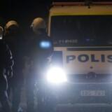 Det svenske politi døjer også med IT-problemer i en grad, som nu truer med at lukke et nyt IT-system. Arkivfoto: Jonathan Nackstrand, AFP/Scanpix