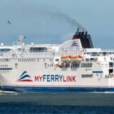 DFDS fik tirsdag officielt overdraget skibene Rodin og Berlioz af selskabet Myferrylink.