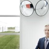 Coloplast-topchef Lars Rasmussen ser frem til, at striden mellem den danske virksomhed og det amerikanske justitsministerium bliver endeligt afsluttet. Coloplast har indgået en principiel aftale med de amerikanske myndigheder og venter derfor bare på det endelige punktum i sagen.
