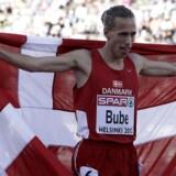 Danskeren Andreas Bube skal løbe endnu hurtigere, hvis han vil nå sit mål om at stå i VM-finalen næste år med de allerbedste 800 meter-løbere i verden.