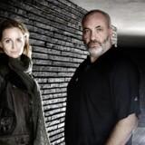 Kim Bodnia og Sofia Helin spiller hovedrollerne i det dansk-svenske TV-drama »Broen«.