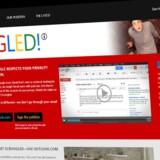Scroogled-hjemmesiden fra Microsoft kritiserer Googles reklamevirksomhed.