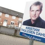 Kristian Thulesen Dahl og Dansk Folkeparti er gået meget frem i byer som Thyregod.