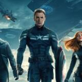 """Captain America: The Winter Soldier"""" har været Hollywoods største billetsælger i år. Pressefoto."""