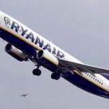 »Vi kan ikke udelukke flere forstyrrelser i juli og august,« skriver Ryanair. Regis Duvignau/arkiv/Reuters